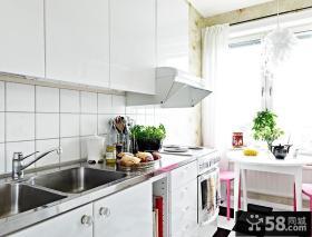 4万打造单身公寓简约风格客厅飘窗装修效果图大全2014图片