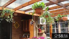 小别墅家庭阳台花卉图片大全