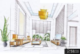 小别墅客厅平面设计图