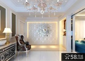 客厅玄关装修设计效果图片
