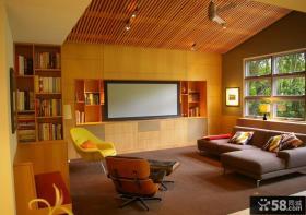 美式乡村风格客厅装修效果图
