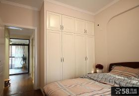 地中海风格简约卧室装饰效果图