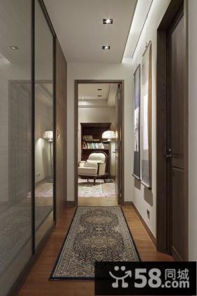 现代复古风格别墅室内装饰图片