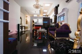 85平米现代复式公寓装修图片