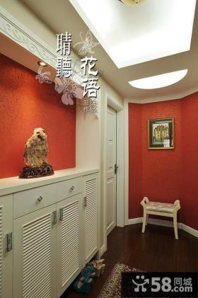 玄关鞋柜装饰效果图片