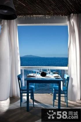 海景别墅餐厅设计