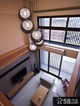 现代风格别墅装修室内窗户图片