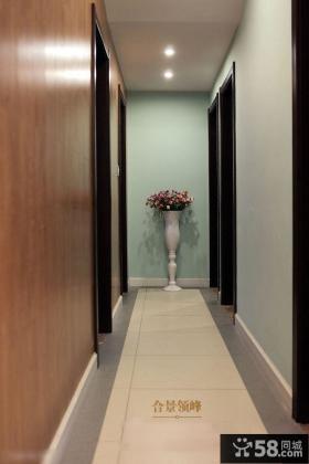 简装进卧室玄关墙设计