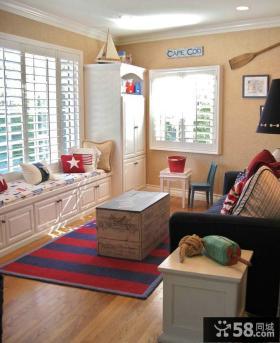 宜家设计小客厅飘窗大全
