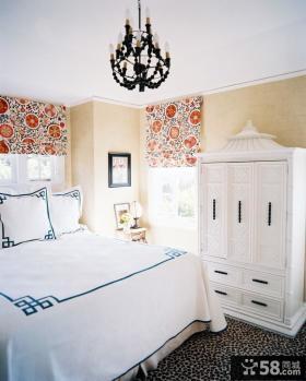 欧式小户型卧室衣柜装修效果图