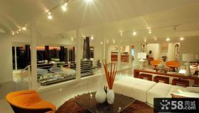 复式楼装修效果图 浪漫客厅欣赏
