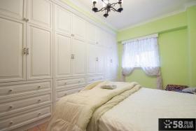 田园设计室内卧室效果图欣赏大全