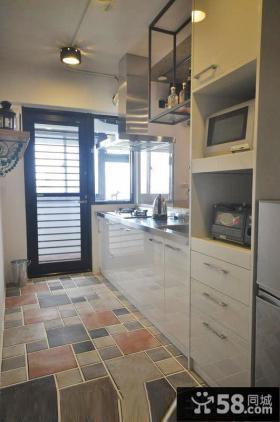 现代风格居家厨房装修图欣赏