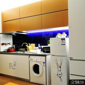 现代风格28平米小户型厨房家居装修设计