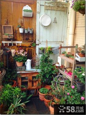 二楼阳台花园
