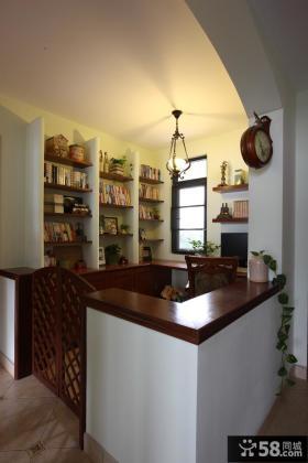 美式风格小书房装修效果图