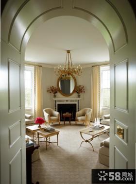法式风格别墅室内装潢设计
