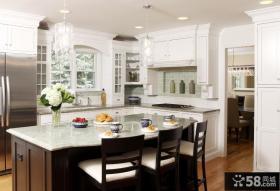 欧式小户型开放式厨房装修图