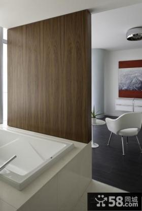 2012家装客厅颜色 黑白简约客厅设计