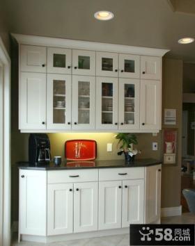 欧式厨房橱柜装修设计效果图大全2012图片