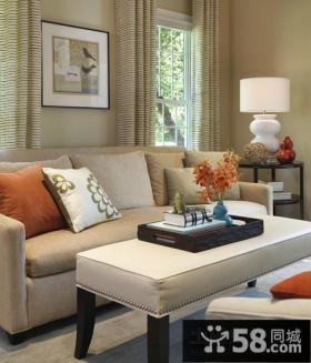 美式乡村风格 美式风格客厅装修图片