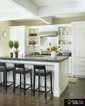 开放式小厨房装饰