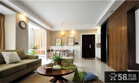 简约风格80平两室两厅装修图片
