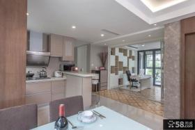 中式简约装修风格厨房设计