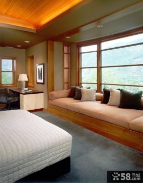 房间飘窗的装饰设计图片