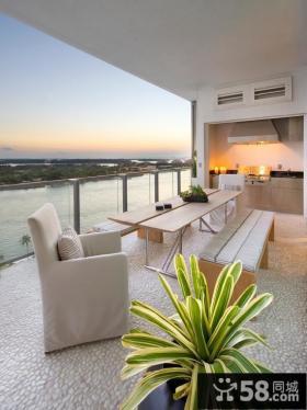 家装阳台居室设计