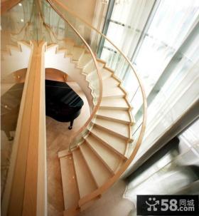 小复式楼旋转楼梯装修效果图