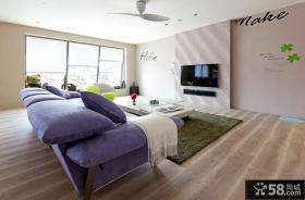 现代简约别墅客厅设计装修图片