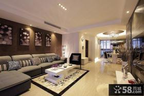 摩登时尚现代两居室装修