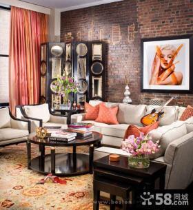客厅装饰画设计效果图片