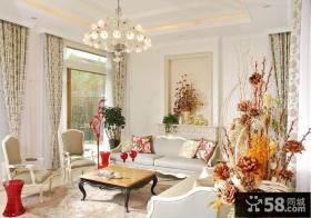 欧式风格客厅吊灯效果图欣赏