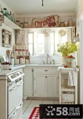 小户型阳台改厨房装修效果图