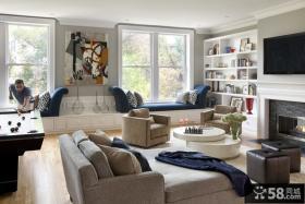 2013客厅飘窗设计效果图欣赏
