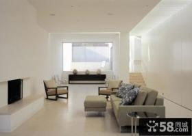 家庭简单装修客厅