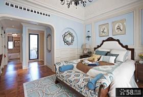 欧式现代风格设计别墅卧室图片