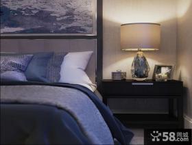 现代新古典卧室灯具效果图