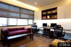 美式风格复式家庭室内装修效果图片