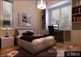 90平米卧室装修效果图大全2013图片
