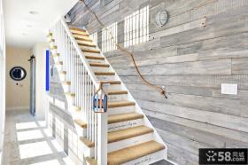 北欧设计装修楼梯图片欣赏
