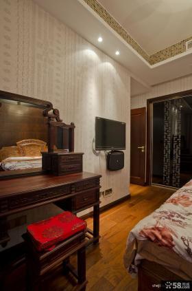 卧室壁纸电视背景墙装修效果图欣赏