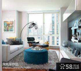 时尚现代风格客厅电视机背景墙效果图欣赏