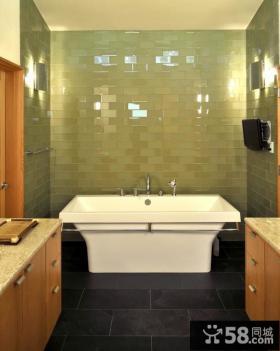 室内现代简约风格厨房整体橱柜效果图