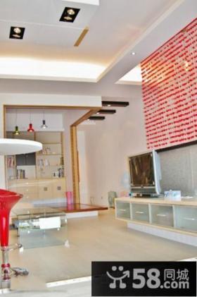 宜家装修小客厅电视背景墙效果图
