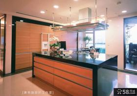 美式厨柜台效果图