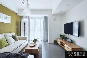 简约风格170平米复式房屋装修效果图大全2014