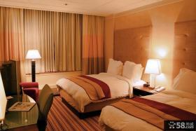 简约卧室装修效果图大全2012图片 卧室飘窗窗帘装饰图片